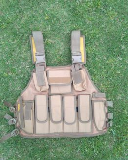 ak 47 magazines vest golden