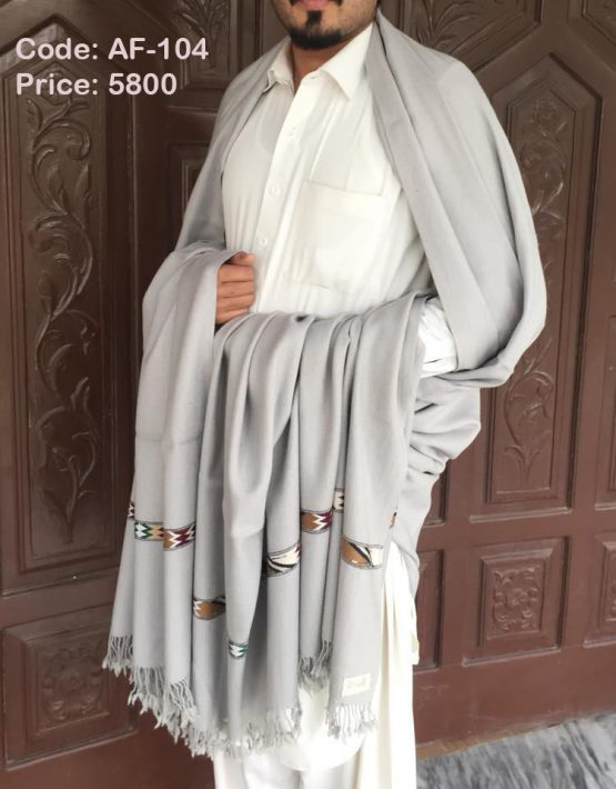 Lambswool shawl