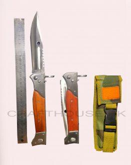 Folding bayonet