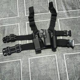 polymer thigh holster