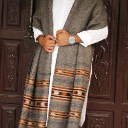 Handmade gents shawl